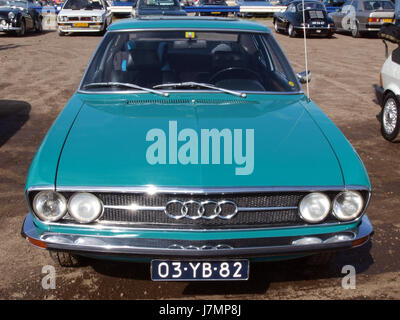 1973 Audi 100 Coupe S pic3 - Stock Photo