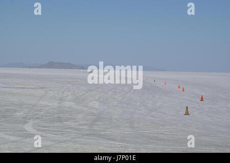 2012.10.02.155200 Bonneville Salt Flats Utah - Stock Photo