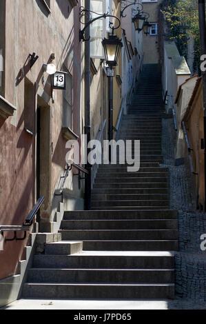 Warsaw Old Town listed World Heritage by UNESCO, Warsaw, Poland © Wojciech Strozyk / Alamy Stock Photo - Stock Photo