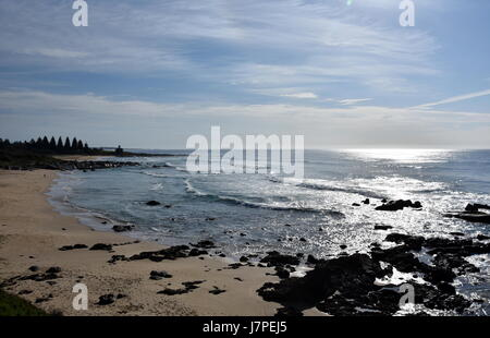 Beach at the Tuross Head. Tuross Head is a seaside village on the south coast of New South Wales Australia. - Stock Photo