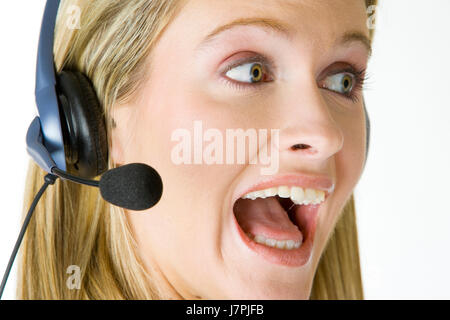 woman woman conversation telephone phone talk speaking speaks spoken speak - Stock Photo