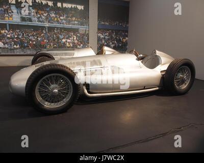 1939 Mercedes Benz W154 Grand Prix, 12 cylinders, 2962cm3, 480hp, 280kmh, photo 2 - Stock Photo