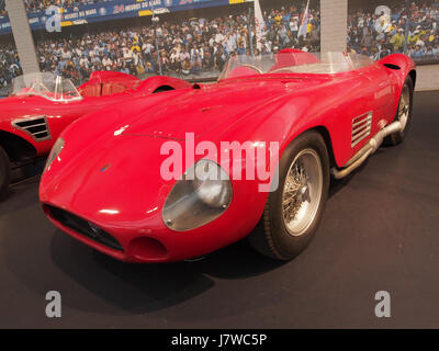 1955 Maserati Sports 300S, 6 cylinders, 2993cm3, 280hp, 280kmh, photo 4 - Stock Photo
