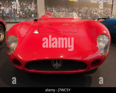 1955 Maserati Sports 300S, 6 cylinders, 2993cm3, 280hp, 280kmh, photo 2 - Stock Photo