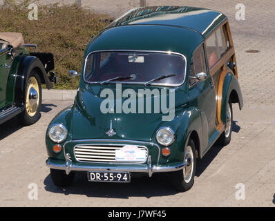 1970 Morris Minor Traveller, Dutch licence registration DR 55 94, pic7 - Stock Photo
