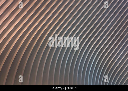 Exterior Abstract Detail View Of The Oculus One World Trade Center Transportation Hub, New York - Stock Photo