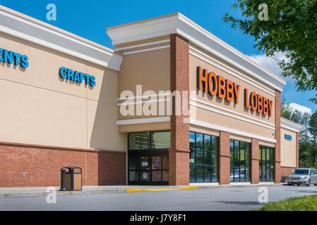 Hobby Lobby craft store in Lawrenceville, Georgia (Metro Atlanta). - Stock Photo