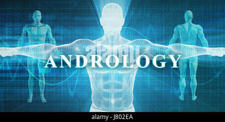 Andrology as a Medical Specialty Field or Department - Stock Photo