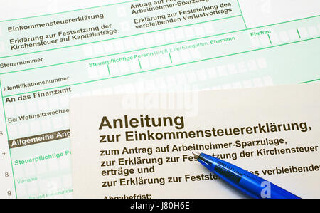 pay germany german federal republic business dealings deal business transaction - Stock Photo