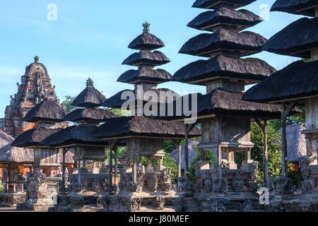 Royal Temple of Mengwi, Pura Taman Ayun Temple, Bali, Indonesia, Asia - Stock Photo