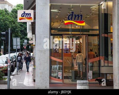 BELGRADE, SERBIA - MAY 25, 2017: DM shop in the center of Belgrade, Serbian capital city. DM-drogerie markt is a - Stock Photo