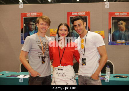 London, UK. 26th May 2017.  The annual London and Europe's premier MCM Comic-Con 3 day event at the Excel Centre - Stock Photo