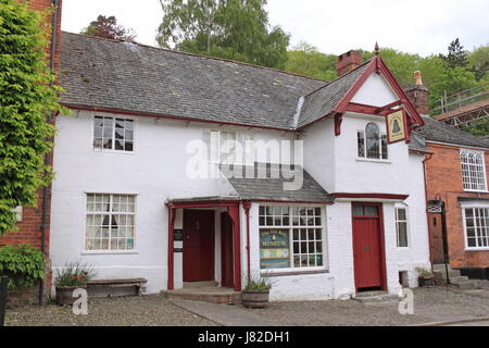 Old Bell Museum of local history, Arthur Street, Montgomery, Montgomeryshire, Powys, Wales, Great Britain, United - Stock Photo