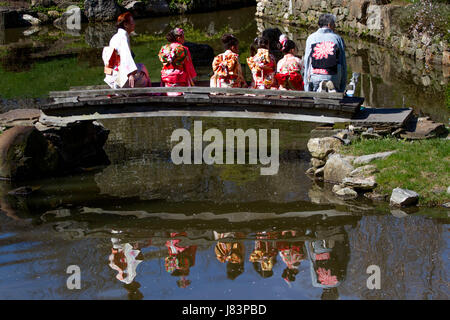 ... Ceremony At The Shofuso Japanese House And Garden In Philadelphiau0027s Fairmount  Park To Celebrate The Opening