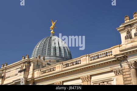 dresden academy of fine arts - Stock Photo