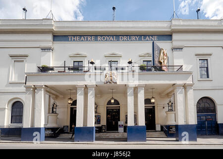 Theatre Royal Drury Lane in Covent Garden London - Stock Photo