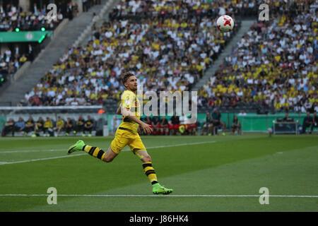 Fußball: DFB-Pokal, Eintracht Frankfurt - Borussia Dortmund, Finale am 27.05.2017 im Olympiastadion, Berlin. Marcel - Stock Photo