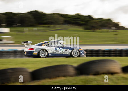 Phillip Island, Australia. 28th May, 2017. Michael O'Donnell during the 2017 Shannon's Nationals, Round 2 - Phillip - Stock Photo