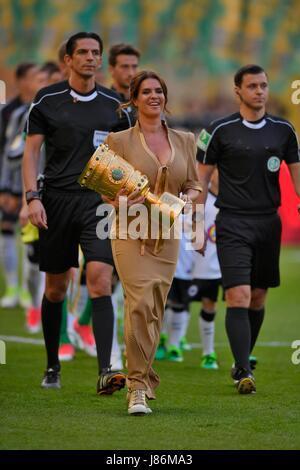 27.05.2017, Fussball DFB-Pokal 2016/17, Finale im Olympiastadion in Berlin, Eintracht Frankfurt - Borussia Dortmund, - Stock Photo