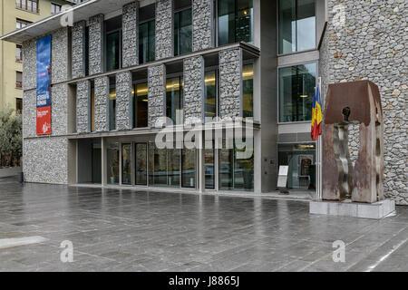 Consell General de les Valls, Andorra la Vella, Andorra - Stock Photo