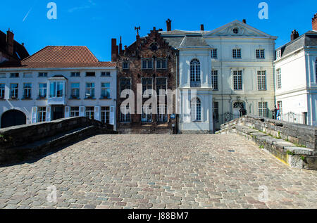 Bruges West Flanders Belgium - Stock Photo