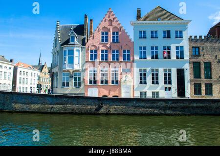 Bruges West Flanders Belgium - Stock Photo