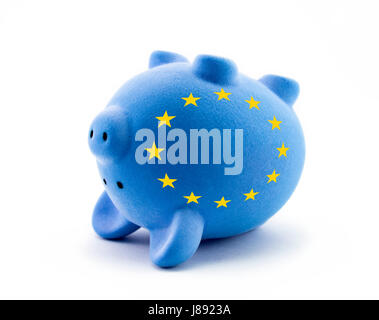 bank, lending institution, blue, danger, economical, isolated, death, model, - Stock Photo