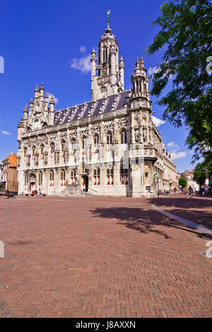 middelburg holland views of in stock photo tourism