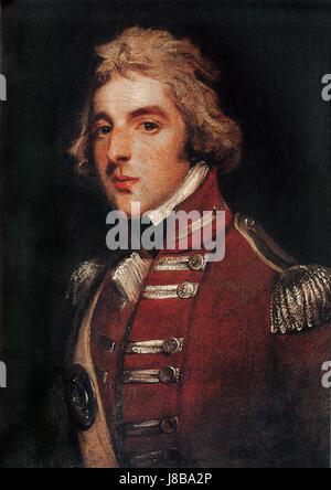 Field Marshal Arthur Wellesley KG CCB GCH CoR 1st Duke of Wellington2 - Stock Photo