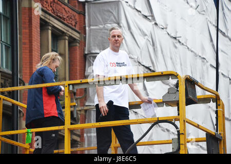 Manchester, UK. 28th May, 2017. The host of the Greater Manchester Run on Sunday 28th May 2017. Credit: Pablo O'Hana/Alamy - Stock Photo