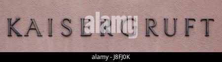 vienna, austrians, newer, trading area, shield, vienna, grave, fox, joseph, - Stock Photo