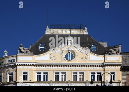 house, home, dwelling house, residential building, building, vienna, austrians, - Stock Photo