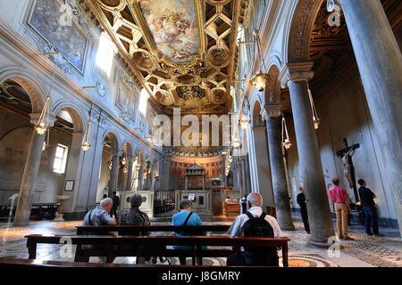 Basilica Di San Clemente in Rome, Italy - Stock Photo