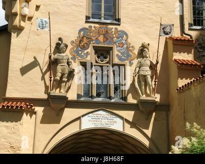 castle hohenschwangau - Stock Photo