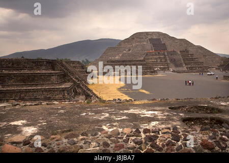 mexico, travel, buildings, big, large, enormous, extreme, powerful, imposing, - Stock Photo