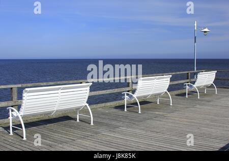 on the pier - Stock Photo