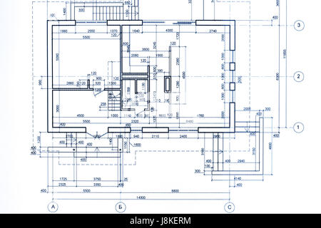 Architectural Drawing Blueprint house plan blueprint, technical drawing, part of architectural