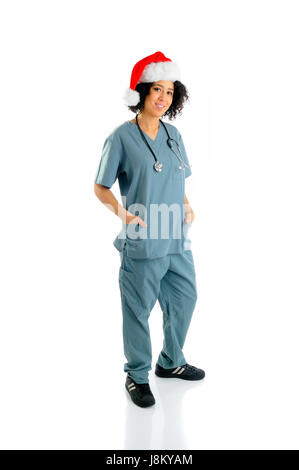holiday, vacation, holidays, vacations, hospital, health care, christmas, - Stock Photo