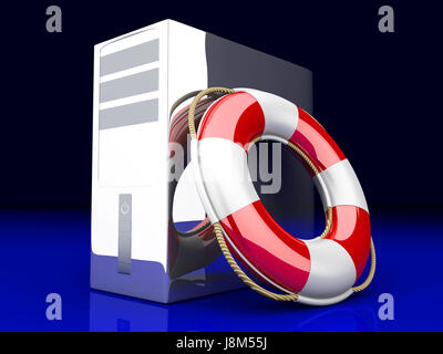 tower, PC, computers, computer, ring, life, exist, existence, living, lives, - Stock Photo