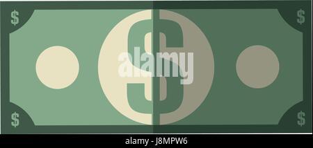 cash money bill - Stock Photo
