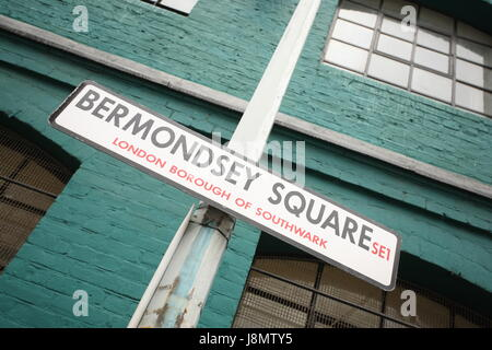 Bermondsey Square London SE1 UK - Stock Photo