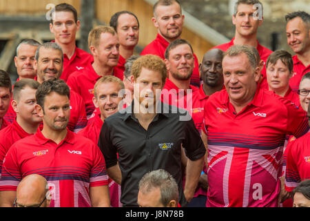 London, UK. 30th May, 2017. Prince Harry attends the launch of UK team for the Invictus Games Toronto at Tower of - Stock Photo