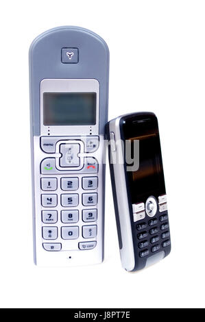 telephone, phone, office, cell, dial, radio, mobile, cellular, wireless, - Stock Photo