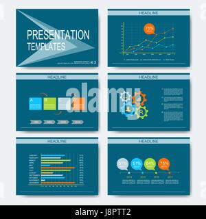 Modern flat design vector graph element in water drop shape in stock set of vector templates for multipurpose presentation slides modern business design with graph and charts ccuart Gallery