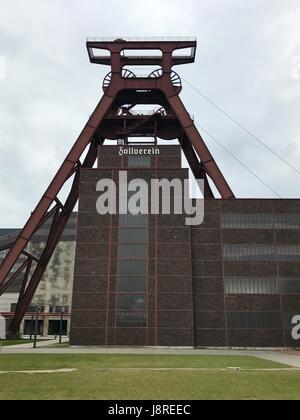 Zeche Zollverein - UNESCO heritage - Stock Photo