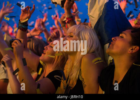 Photographer Ian Georgeson, 07921 567360 T in the Park, TITP 2014 - Stock Photo