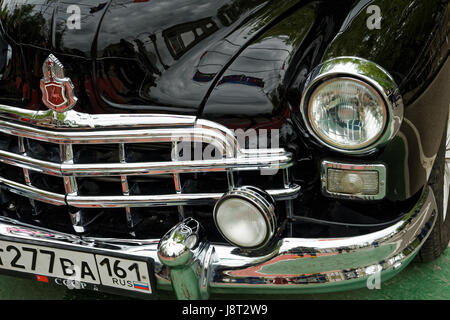 Photo Gaz Zim Ussr Year Classic Cars Stock Photo