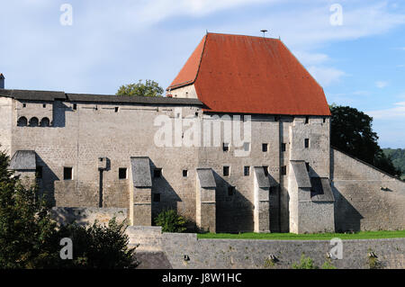 burg tittmoning - Stock Photo