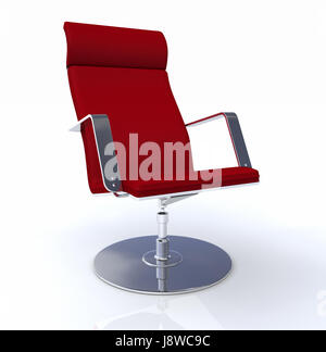 Designer chefsessel  designer chefsessel red chrome 2 Stock Photo, Royalty Free Image ...