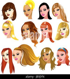 woman, blue, women, fashion, ladies, lady, female, american, brown, brownish, - Stock Photo